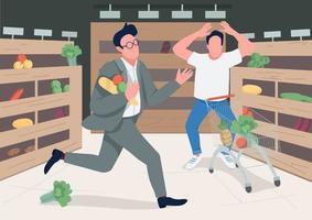acquirenti in preda al panico