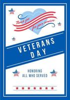poster della giornata annuale dei veterani