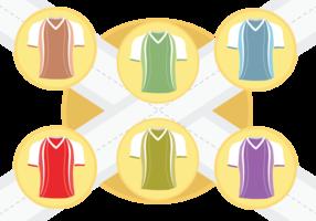 Sport Jersey vettoriale
