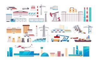 set di oggetti di fabbrica