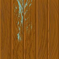 Venatura del legno ruvida marrone vettore
