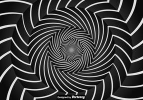 Sfondo di ipnosi vettoriale