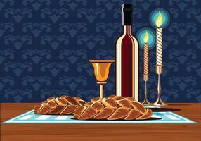 Il Santo Sabbath - Illustrazione vettore