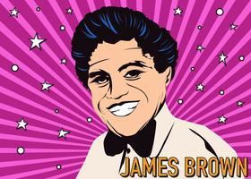 James Brown Figure vettore