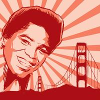 James Brown Illustration Vector gratuito
