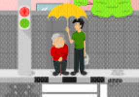 Illustrazione del concetto di gentilezza