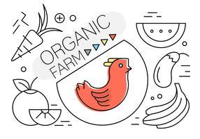 Elementi vettoriali lineari sulla vita organica