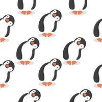 modello di cartone animato simpatici pinguini