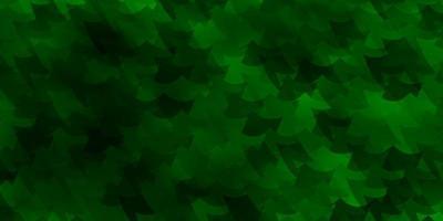 modello verde chiaro con rettangoli.