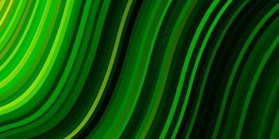 trama vettoriale verde scuro con linee ironiche.
