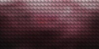 layout rosso chiaro con linee, rettangoli.