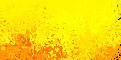 sfondo giallo chiaro con forme poligonali.