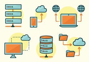 pacchetto di vettore di database