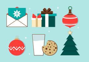 Sfondo vettoriale di Natale gratis