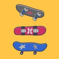 set di skateboard divertenti