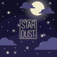 Star Dust Vector gratuito