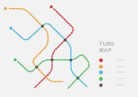 Mappa semplice del tubo