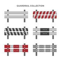 Set da collezione Guardrail vettore
