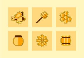 Set di icone di calabrone