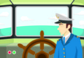 Illustrazione Del Concetto Seaman vettore