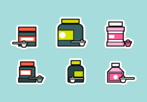 Supplementi Icon Pack vettoriali gratis
