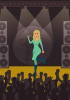 Illustrazione gratuita di Beyonce Concert vettore