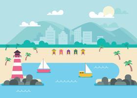 Illustrazione di Paradise Cove vettore