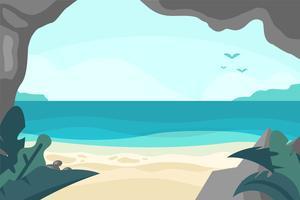 Illustrazione della baia