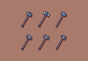 Sledgehammer Vector gratuito
