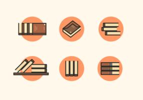 Pacchetto di libri vettoriali gratis