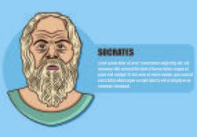 Illustrazione di Socrate vettore