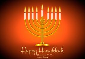Felice illustrazione di Hanukkah