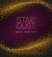vettore di sfondo stardust