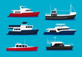 Illustrazione vettoriale di Trawler