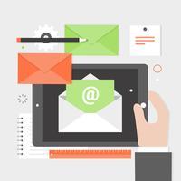 Icone e elementi di Office vettoriali gratis Design piatto
