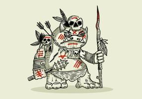 illustrazione di guerriero folletto