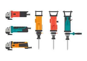Set di elementi vettoriali pneumatici