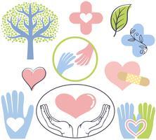 Vettori di guarigione naturali gratuiti