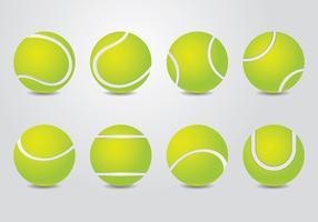 Vettore della pallina da tennis