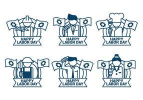 Labor Day Sept 4th vector icon