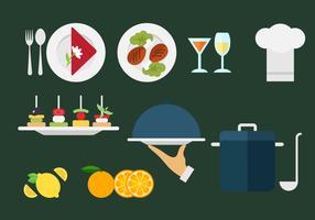 Vettori del menu del ristorante