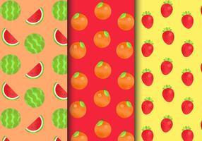 Modelli di frutta senza cuciture