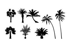 Silhouette vettoriali gratis Palmetto