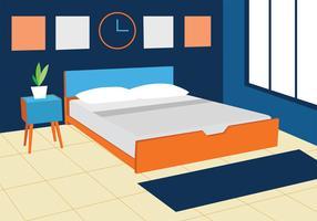 Disegno vettoriale di biancheria da letto