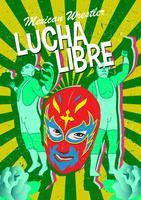 Maschera di Wrestler messicano vettore