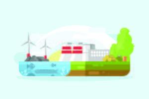 Illustrazione delle risorse naturali
