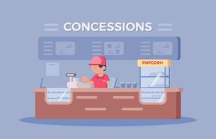 Stand per Concessione Cinema
