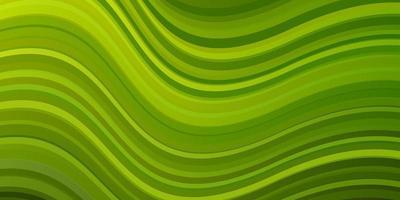 sfondo verde con linee piegate. vettore