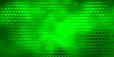 sfondo verde scuro con cerchi.