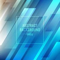 astratto blu strisce luminose linee diagonali sfondo vettore
